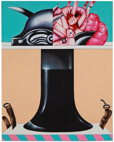 Sergio Sarri, 'Tavolo imbottito', 1971
