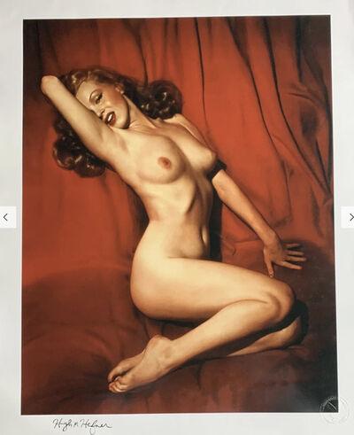 Tom Kelley, 'Sweetheart of the Month signed by Hugh Hefner', 1953