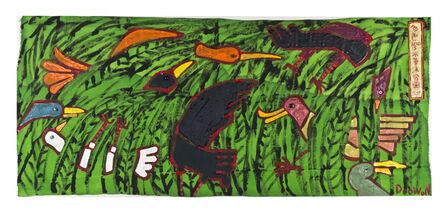 Doo-Won Lee, 'Colorful birds take a bath', 2015
