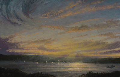 Ken Salaz, 'Sunset over Palisades - 6.23.16'