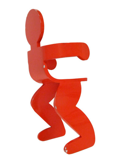 Keith Haring, 'Untitled, Seated Figure', 1986