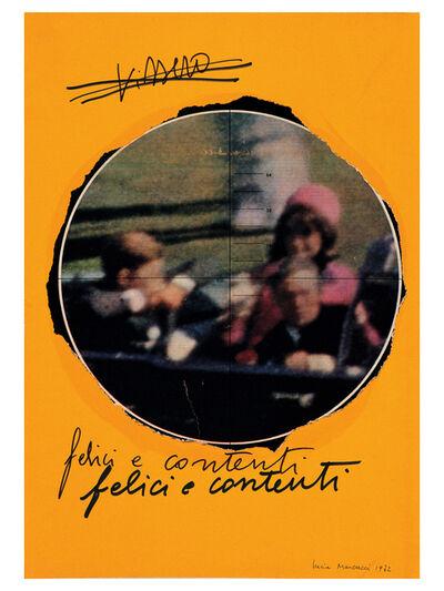 Lucia Marcucci, 'Vissero', 1972