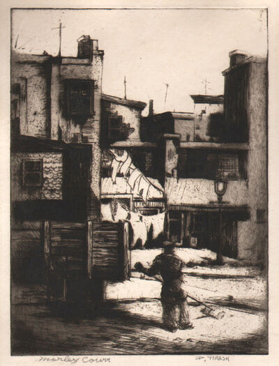 Dox Thrash, 'Morley's Court', ca. 1939