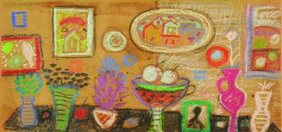 ANTUN MASLE, 'Vases', 1963
