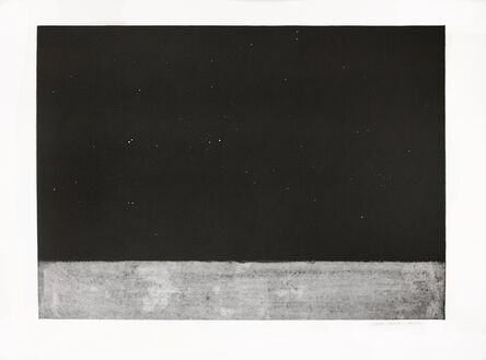 Mark Strand, 'A Few Bright Stars', 1999