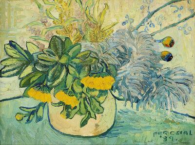 John Perceval, 'Still life with flowers', 1939