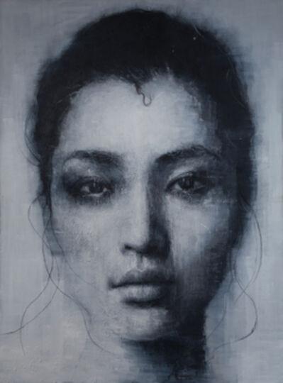 Vitaliano, 'Studio di donna I', 2014
