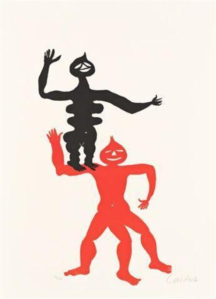 Alexander Calder, 'The Acrobats. ', 1975