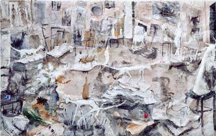 Miquel Barceló, 'L'Atelier aux Sculptures ', 1993
