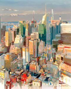 Josef Kote, 'Beyond the Skyscrapers', 2021