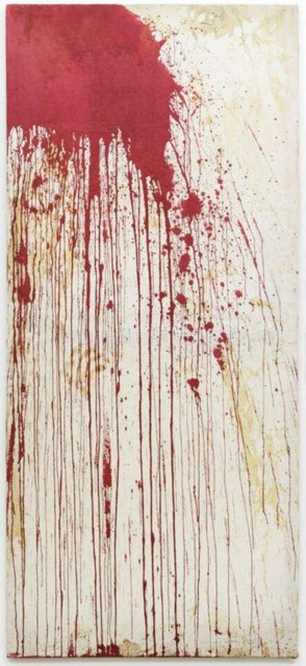 Hermann Nitsch, 'Relikt, überschüttet', 2013