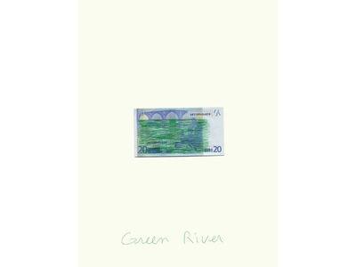 Claude Closky, 'Green River', 2007
