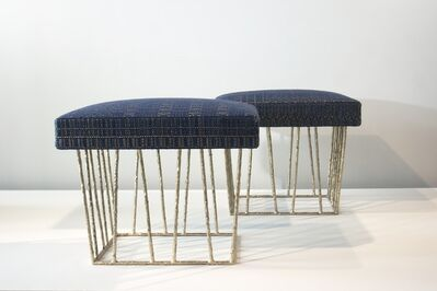 Anne and Vincent Corbiere, 'Cage Stools', 2012