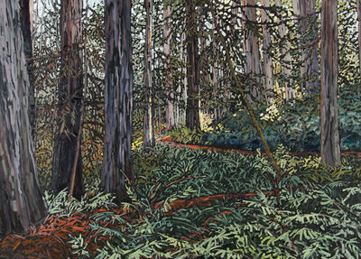 Deb Komitor, 'Surrendering to Nature's Peace', 2015
