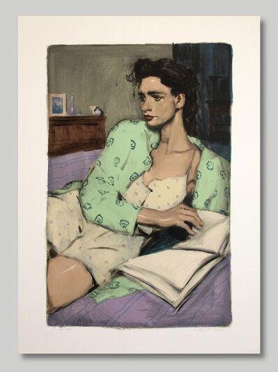 Malcolm T. Liepke, 'Reading in Bed', 2001