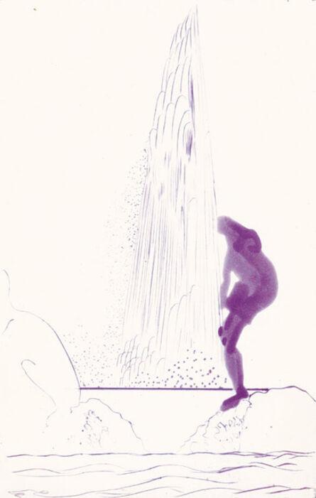 Chris Ofili, 'Rainbow - Violet Narcissus', 2008
