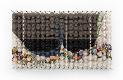 Jacob Hashimoto, 'In the Absence of any Sound', 2020
