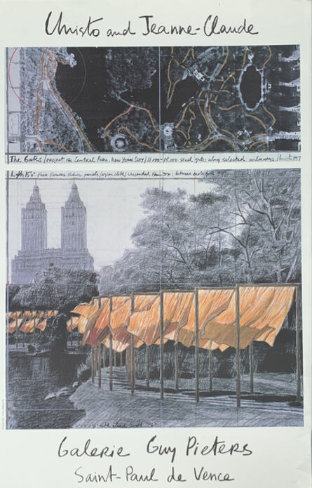 Christo, 'The gates (Project for Central Park, New York City) 1997, Christo and Jeanne-Claude, manifesto', 2001