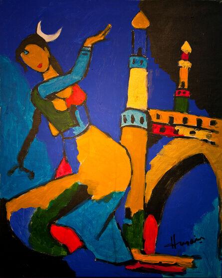 Maqbool Fida Husain, 'Untitled (Menaxi)'