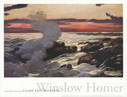 Winslow Homer, 'West Point, Prout's Neck', 2001