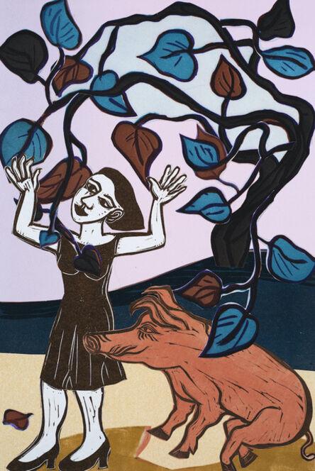 Eileen Cooper, 'Dance Little Pig', 2020