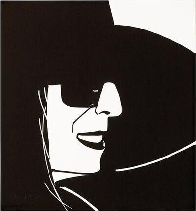 Alex Katz, 'Large Black Hat Ada', ca. 2013