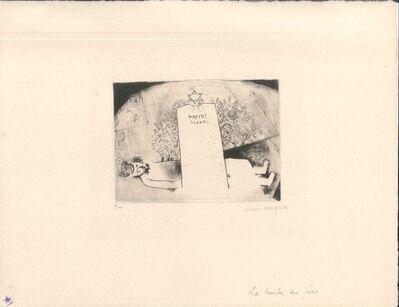 Marc Chagall, 'La Tombe du Père', 1923