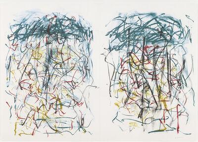 Joan Mitchell, 'Sunflowers I (diptych)', 1992