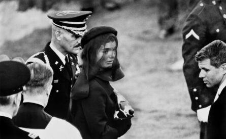 Elliott Erwitt, 'Arlington, Virginia. November 25th, 1963. Jacqueline KENNEDY at John F. Kennedy's Funeral', 1963