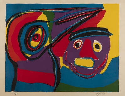 Karel Appel, '[Abstract Composition with Face]', 1969
