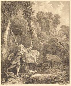 Louis Germain and Charles Emmanuel Patas after Louis Gabriel Moreau, 'On y court plus d'un danger'