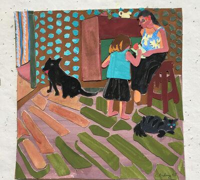 Elizabeth Bisbing, 'Turquoise Top', 2007