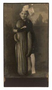 Jana Paleckova, 'untitled (girl hugging cactus)', 2017
