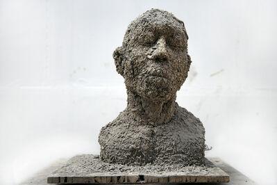 Zhang Huan, 'Ash Portrait No. 3 (Thinker No. 3)', 2007