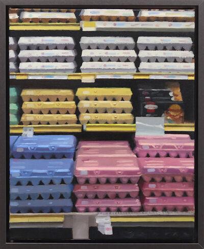 James Zamora, 'Egg Aisle No. 11', 2020