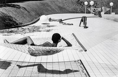 Martine Franck, 'Swimming Pool Designed by Alan Capeillers, La Bruse, Var, France', 1976