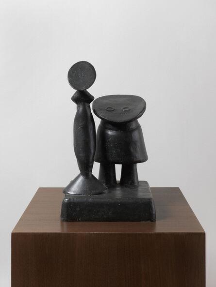 Max Ernst, 'Fille et mère', 1959