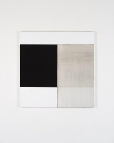 Callum Innes, 'Exposed Painting Lamp Black', 2018