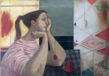 Enrique Grau, 'Sibila Oceánica', 1955