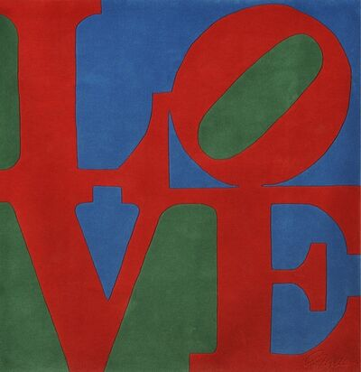 Robert Indiana, 'Classic Love', 1995