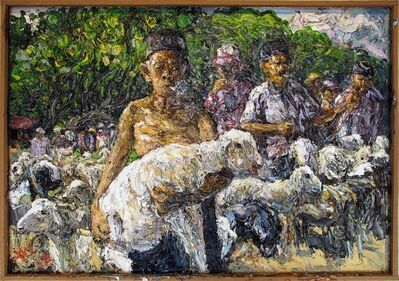 Awiki, 'Man with Sheep', 2012