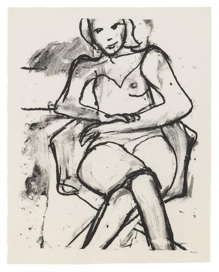 Richard Diebenkorn, 'Seated Woman with Hands Crossed', 1965