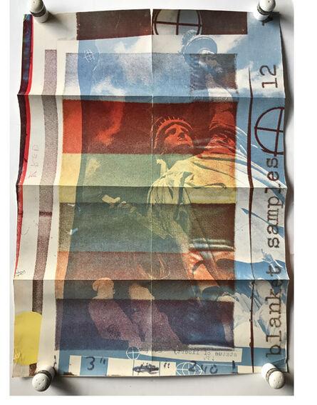 Robert Rauschenberg, ''Rauschenberg', Exhibition Invite Mailer/Poster, Leo Castelli Gallery NYC', 1963