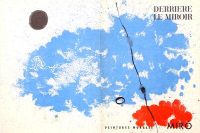 Joan Miró, 'Peinture Murales, Cover of Derrière le Miroir ', 1961