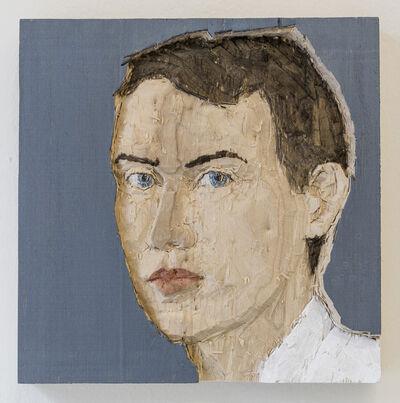 Stephan Balkenhol, 'Man (relief)', 2016