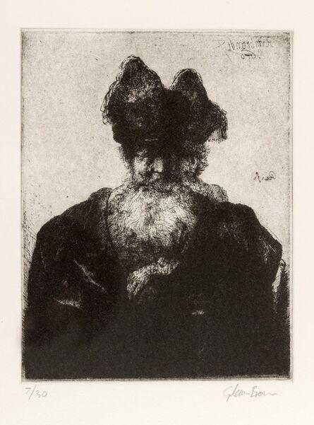 Glenn Brown, 'Layered Portraits (after Rembrandt) 9', 2008
