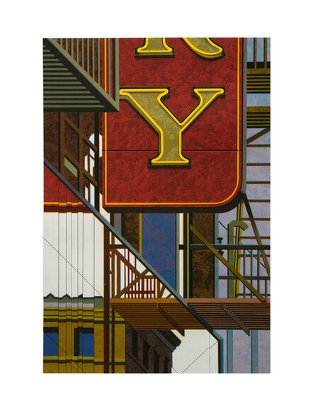 Robert Cottingham, 'An American Alphabet: Y', 2012