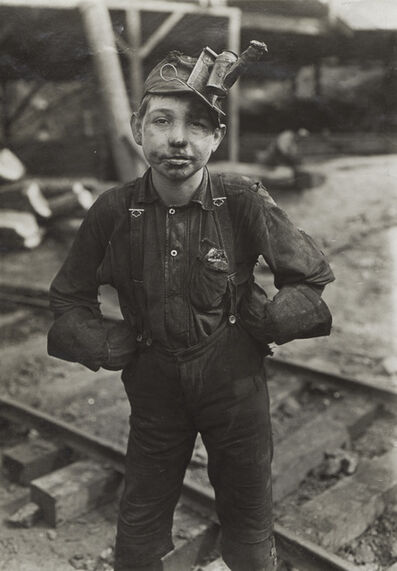 Lewis Wickes Hine, 'Young West Virginia Coal Miner', 1911
