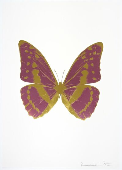 Damien Hirst, 'The Souls III - Loganberry Pink - Oriental Gold - Oriental Gold', 2010
