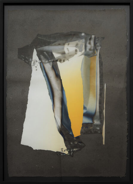 Larry Bell, 'Mirage Vapor Drawing #246', 1990